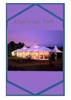Aluminium Tent Category