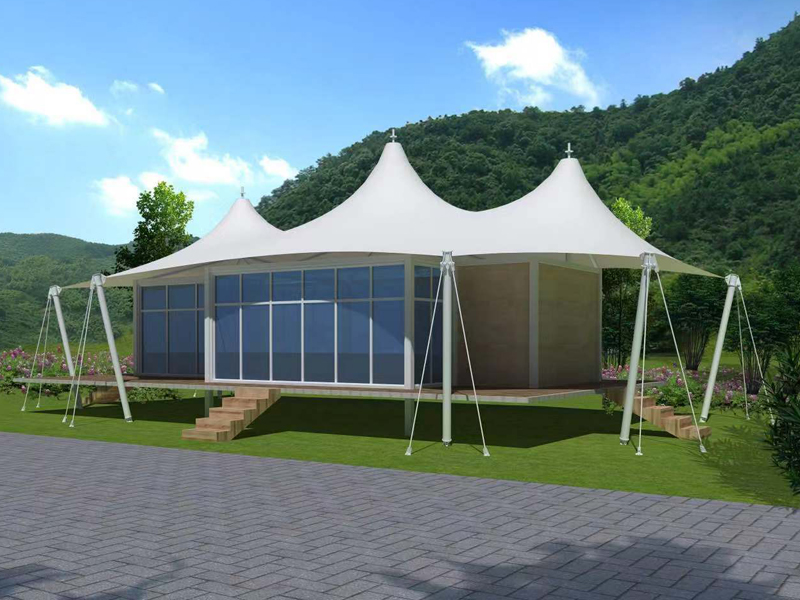 Luxury Tent For Resort Room