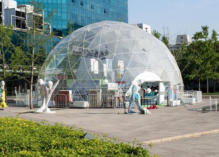 Geodesic Sphere Tent