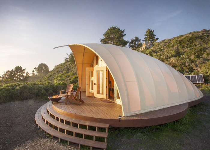 Shell Shape Forest Resort Tent