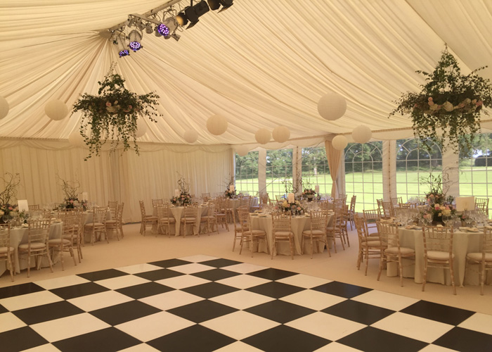 Wedding Party Tent With Dance Flooring