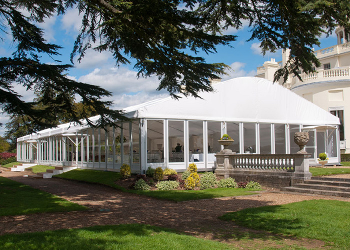 Glass Wall Marquee Tent