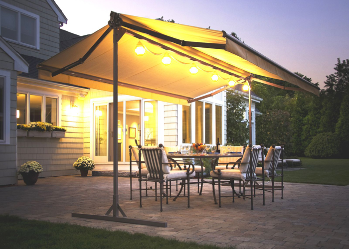 Double Side Awning