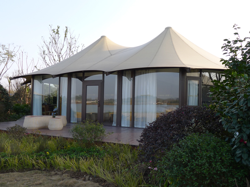 2018 Latest Hotel Tent Luxury Resort For Sale