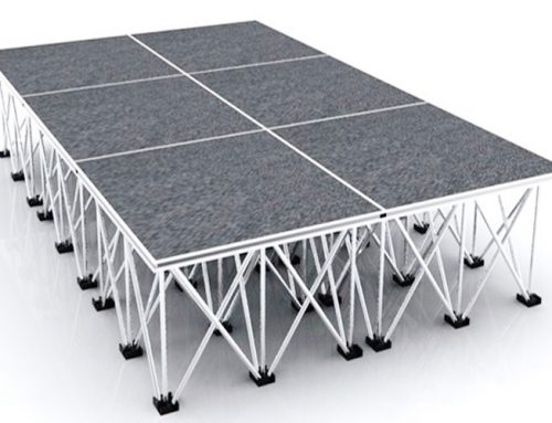 How Many Loading Weight For Aluminum Folding Stage
