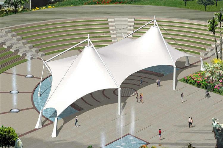 Pvdf Tensile Membrane Structure Gymnasium Stadium Canopy