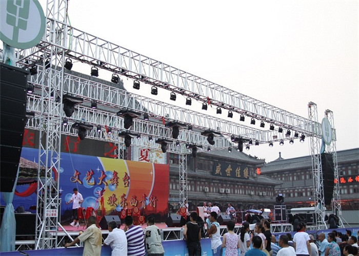 Stage Truss Hanging LED Light Event Tent