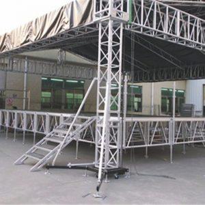 Aluminum Concert Small Stage Lighting Roof Truss