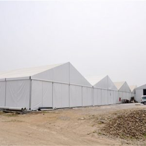 Temporary Big Aluminum Warehouse Outdoor Tent With Abs