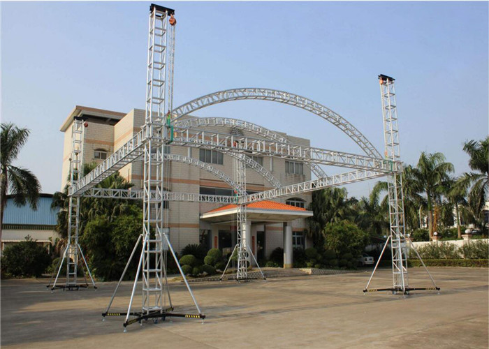 Aluminum Stage Truss Outdoor Stage Roof Truss System