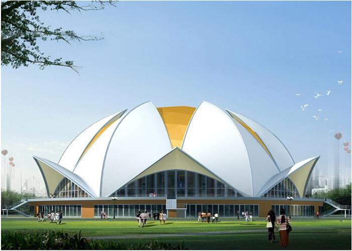 Tensile Membrane Structural Stadium Roof Best Tent