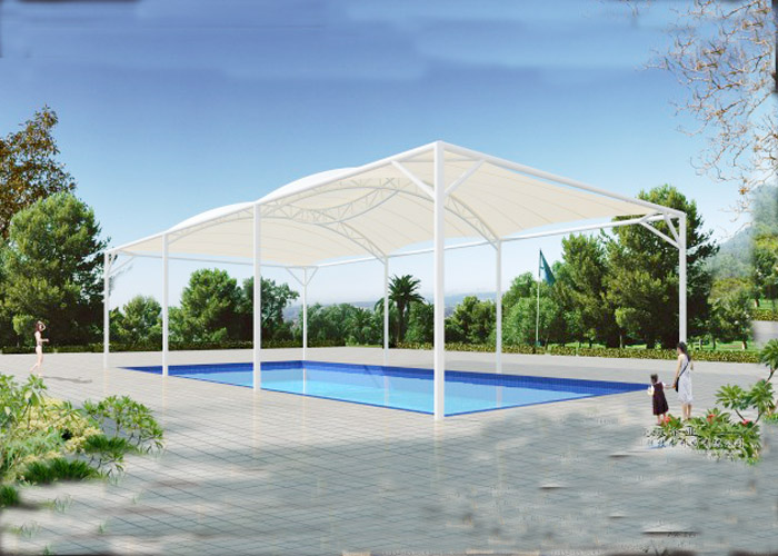 Stretch Tensile Truss Structure Swimming Pool Tent Tent