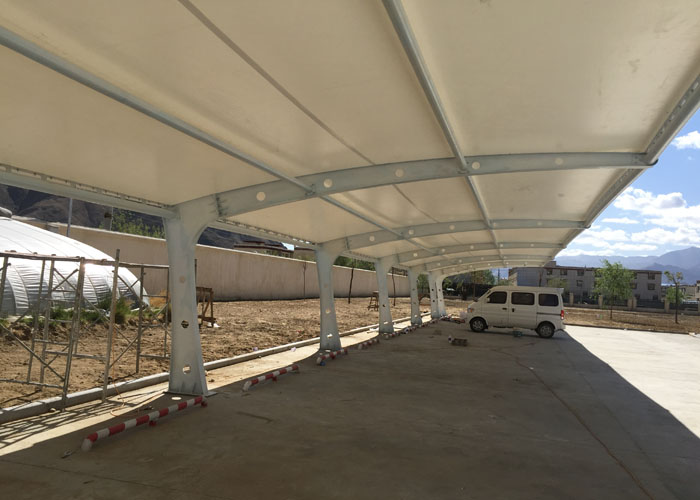 Self cleaning steel car garage tent best tent supply in for Garage self auto