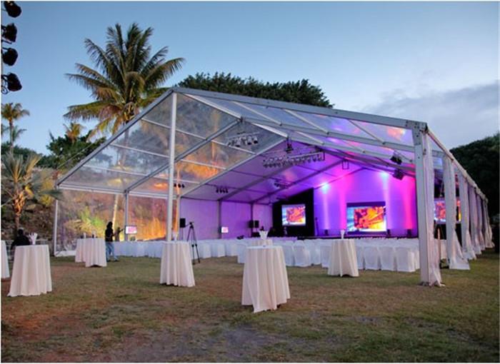Outdoor event tent aluminum transparent PVC marquee wedding party tent & Outdoor event tent aluminum transparent PVC marquee wedding party ...