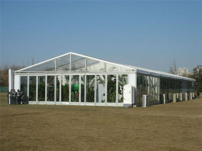 Clear Pvc Roof Transparent Glass Giant Wedding Party Tents