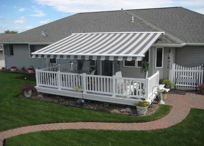 Awning fabric: description and application