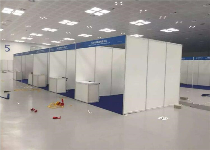 Exhibition Booth Structure : Fast set up standard modular aluminum trade show shell