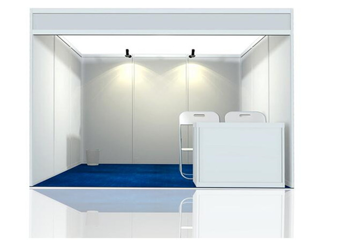 Exhibition Booth Shell Scheme : Standard shell scheme booth with good quality best tent supply