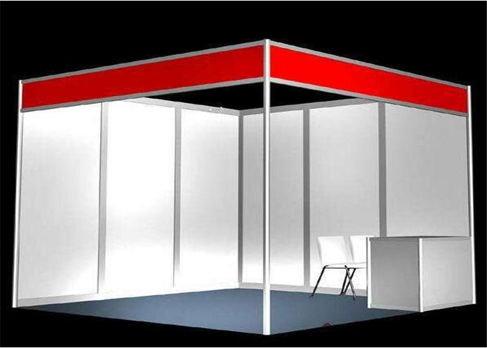 Exhibition Booth Standard Size : Portable aluminum exhibition system booth with m