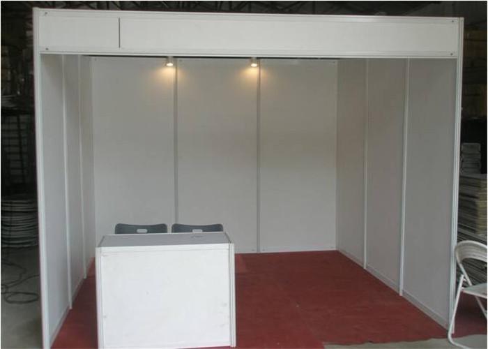 Exhibition Booth Shell Scheme : Fast set up standard modular aluminum trade show shell scheme