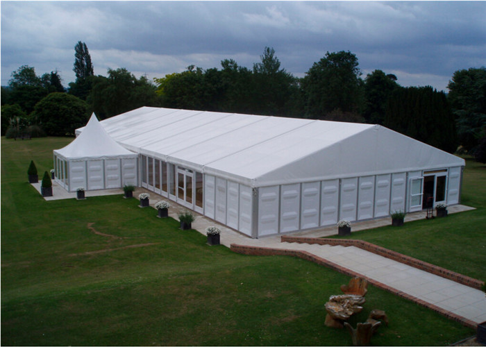 Guangzhou High Quality White Pvc Aluminum Alloy Party Tent