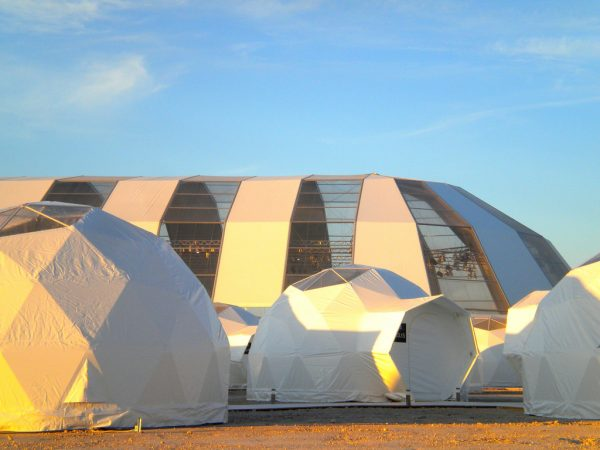 Outdoor Large Party Soundproof Aluminium Frame Geodesic