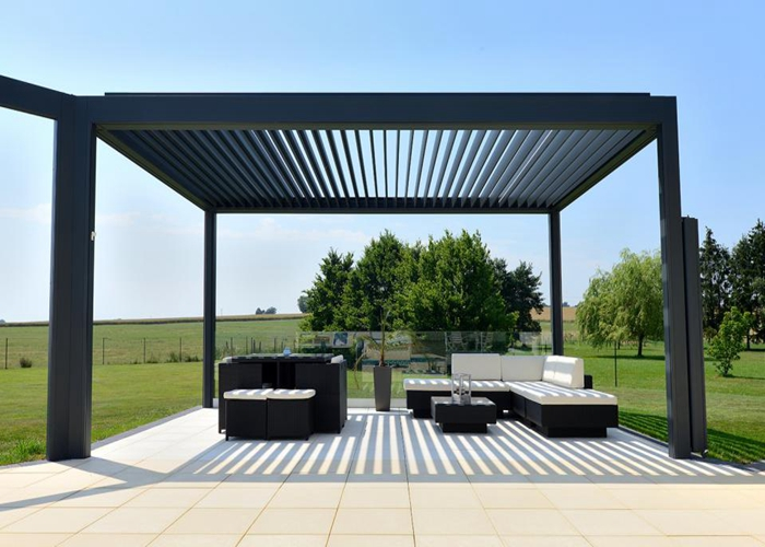 competitive price 51638 733ea Garden awning pergola retractable awning PVC roof ...