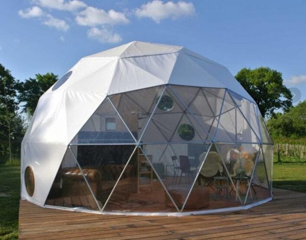 Beautiful Shape Metal Frame Geodesic Dome House Best