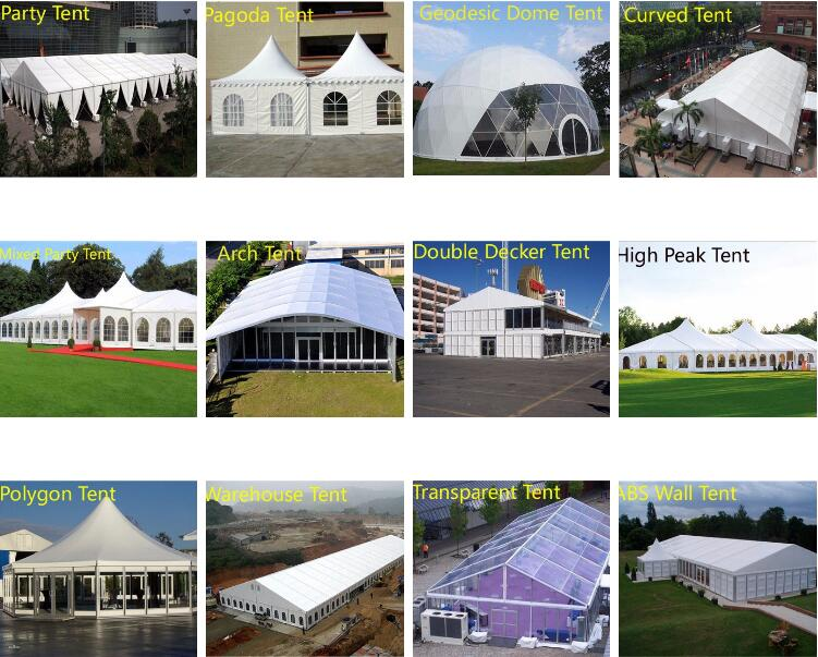 Large Wedding Marquee Tent For Sale With Hard Press Aluminum