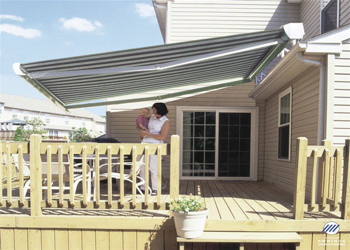 Large Slide Out Electric Metal Roof Retractable Awning With Waterproof Uv Resistant Tent Truss Stage