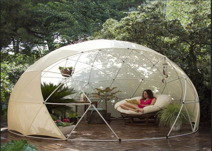 Transparent Outdoor Camping House Geodesic Dome Tent With
