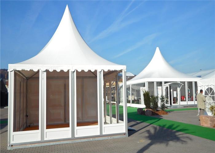 5mx5m Pagoda Tent Abs Plastic Hard Sidewall Trade Show
