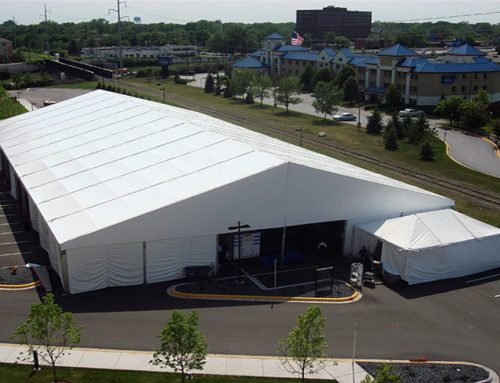 Use Temporary Building House -Aluminium Warehouse Tent For Storage The Garbage ,Rubbish,Waste  (Easy to Building and Take Off)