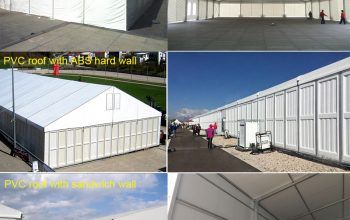 warehouse tent wall