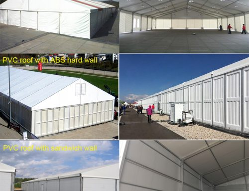 How to choose the warehouse tent