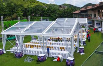 transparent wedding party tent01