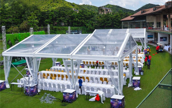 transparent wedding party tent01