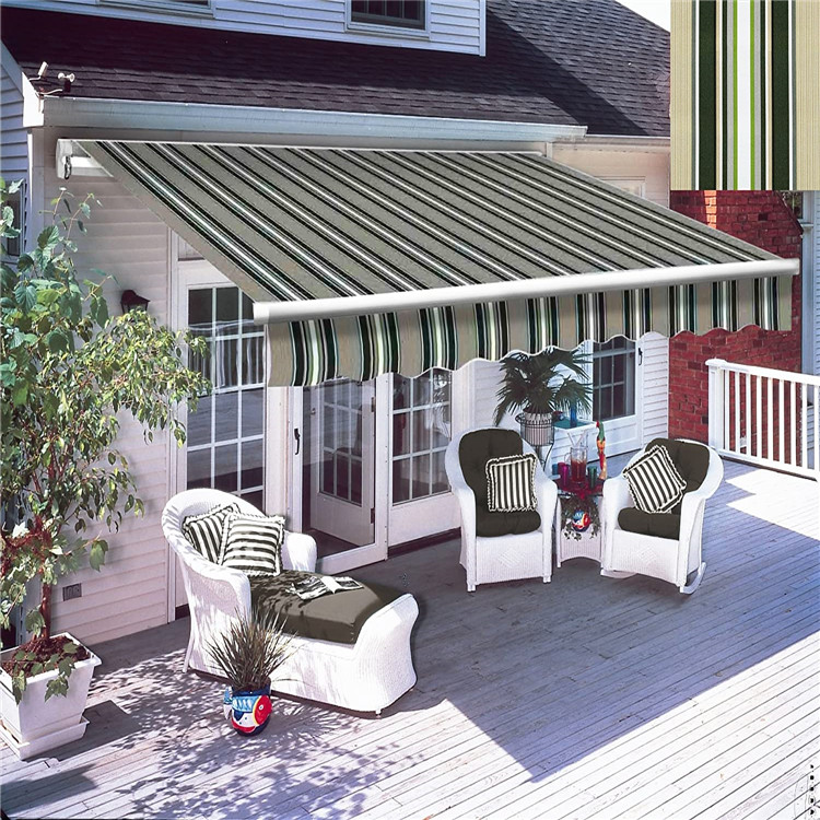 Electric 4x3m extend heavy duty awning sunshade for home ...