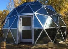 glass dome tent