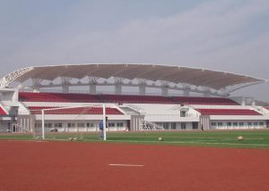Stadium tent