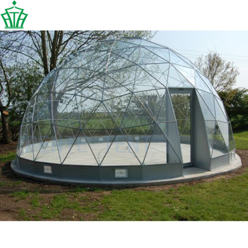 6m Igloo Geodesic Glass Roof Dome Tent